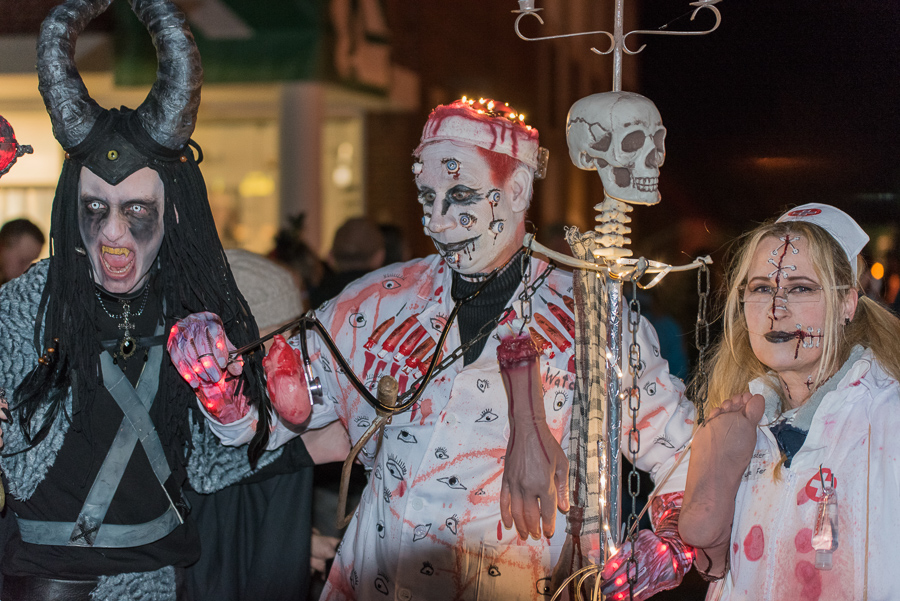 Halloween in Esens am 25.Oktober 2019
