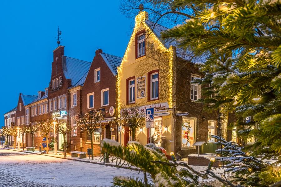 Weihnachtswald in Esens vom 6. Dez. bis 8. Dez .2019
