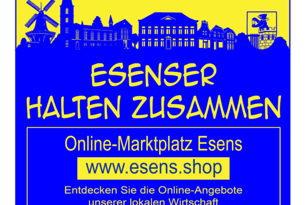 Online-Marktplatz Esens – www.esens.shop